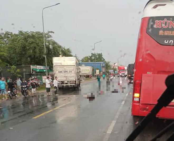 Xe tải vượt ẩu tông chết 3 người ở Đồng Nai: Tạm giữ tài xế - Ảnh 3.