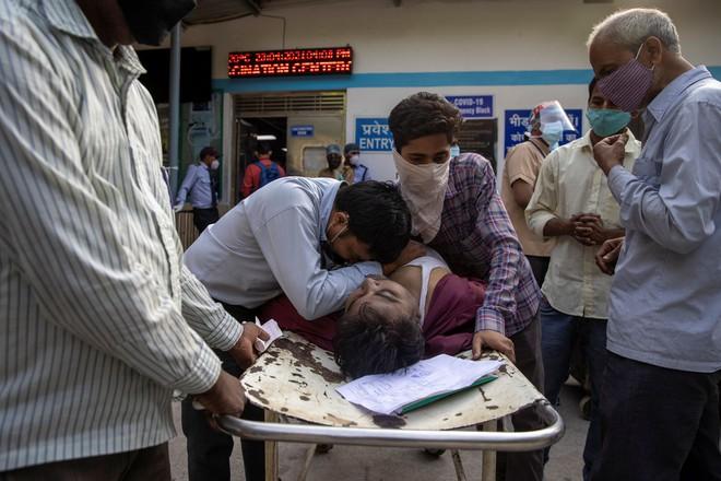 Tang thương ở Ấn Độ: Bệnh nhân gục ngã trước khi chạm tay vào cánh cửa bệnh viện, như gia súc bị nhồi nhét  - Ảnh 1.