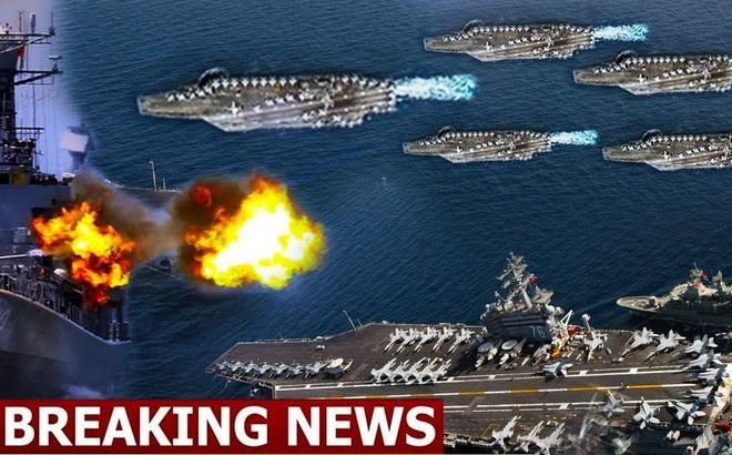4 kịch bản hải chiến khốc liệt giữa Mỹ và Trung Quốc: Đài Loan có nguy cơ bùng nổ cao nhất