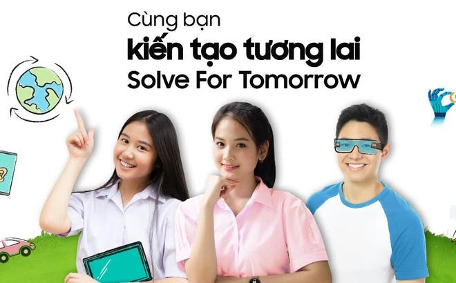 """Cuộc thi Solve for Tomorrow chính thức trở lại, GenZ mê công nghệ """"note"""" ngay lịch thi và thể lệ để không bỏ lỡ giải thưởng """"khủng"""""""