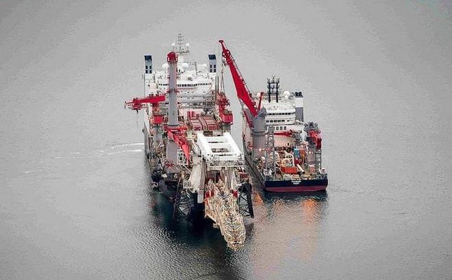 Nord Stream 2 hoàn thành 95%, xuất hiện điều bất thường trong quá trình thi công