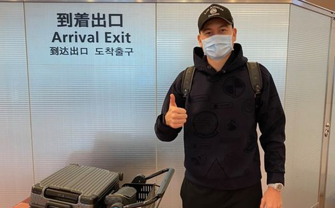Văn Lâm đã tới Nhật Bản, háo hức chờ ngày được tập với Cerezo Osaka