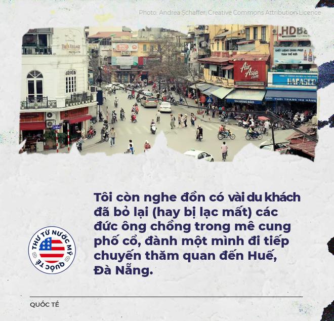 Thư từ nước Mỹ: Một tour xích lô vòng quanh Hà Nội trong tưởng tượng - Ảnh 5.