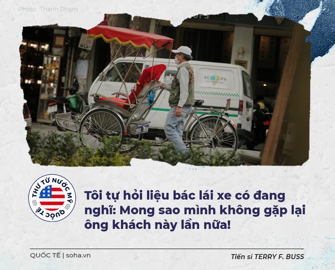 Thư từ nước Mỹ: Một tour xích lô vòng quanh Hà Nội trong tưởng tượng - Ảnh 8.