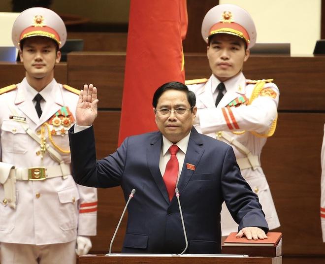 Những cam kết của tân Thủ tướng Phạm Minh Chính - Ảnh 1.