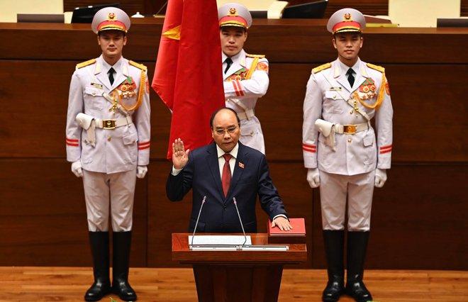 Tân Chủ tịch nước Nguyễn Xuân Phúc: Vinh dự tiếp nối những thành quả mà Tổng Bí thư Nguyễn Phú Trọng đã làm - Ảnh 1.