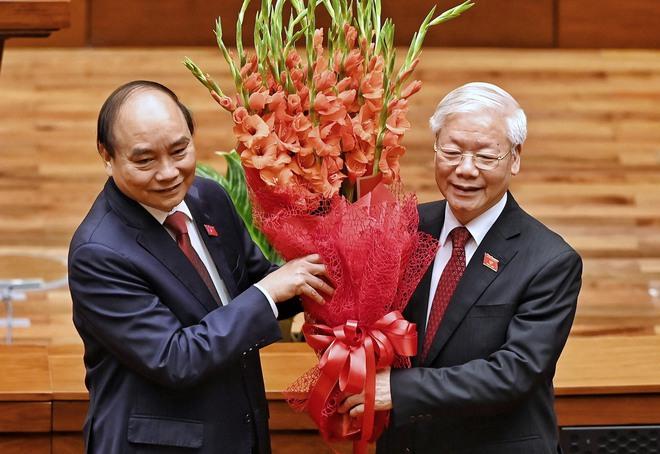 Tân Chủ tịch nước Nguyễn Xuân Phúc: Vinh dự tiếp nối những thành quả mà Tổng Bí thư Nguyễn Phú Trọng đã làm - Ảnh 3.
