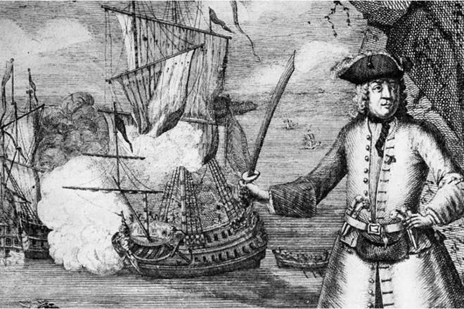 Đồng xu cổ giữ bí mật về tên cướp biển đầu tiên bị săn lùng toàn cầu - Ảnh 1.