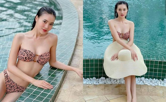 Ninh Dương Lan Ngọc diện bikini khoe thân hình nóng bỏng ở tuổi 31