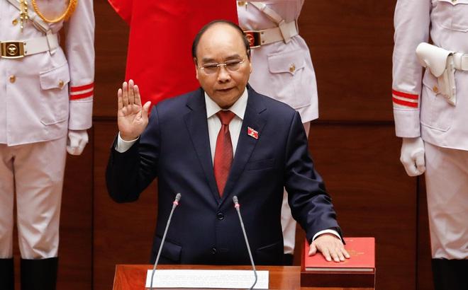 Tân Chủ tịch nước Nguyễn Xuân Phúc: Vinh dự tiếp nối những thành quả mà Tổng Bí thư Nguyễn Phú Trọng đã làm
