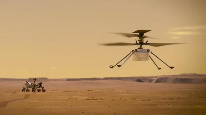Hành trình lịch sử tới chuyến bay trực thăng đầu tiên trên sao Hỏa - Ảnh 1.