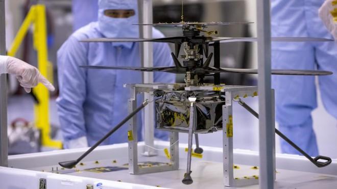 Hành trình lịch sử tới chuyến bay trực thăng đầu tiên trên sao Hỏa - Ảnh 3.