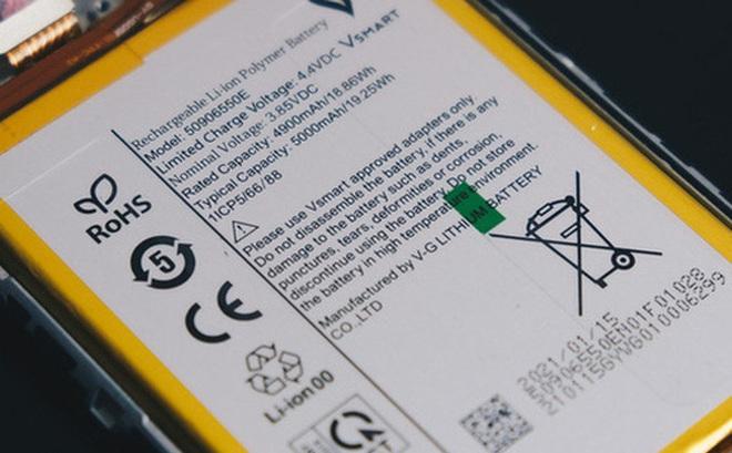 Vsmart Star 5 dùng pin do Vingroup tự sản xuất, không còn dựa vào nhà sản xuất Trung Quốc
