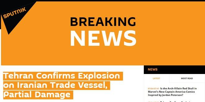 NÓNG: Thông tin mới nhất vụ tàu chỉ huy đặc chủng của Iran bị tấn công - Tàu sân bay Mỹ di chuyển khẩn cấp - Ảnh 8.