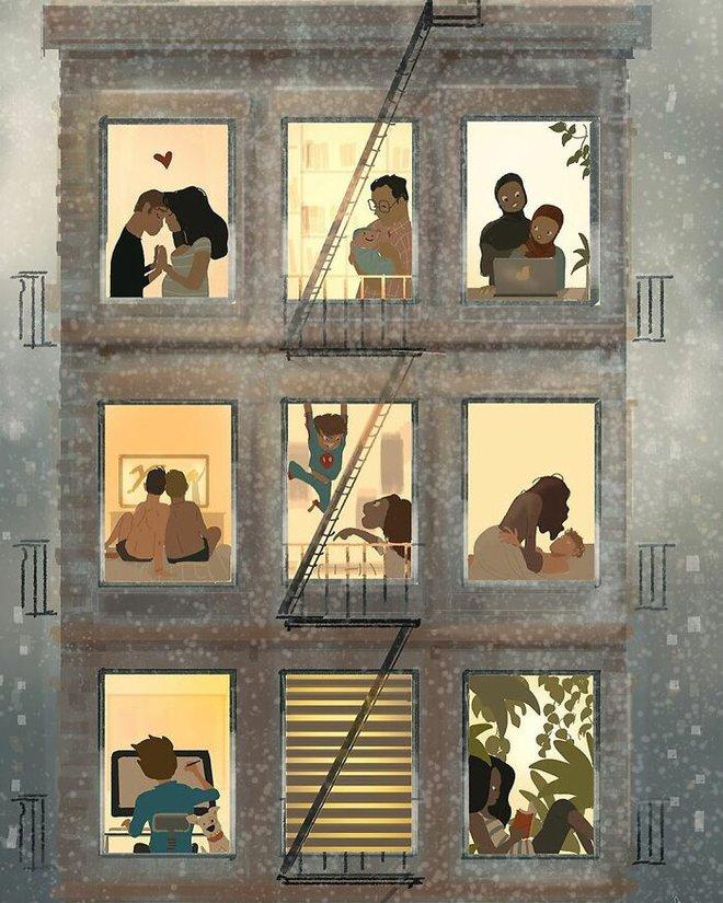 Bộ tranh độc đáo về những khoảnh khắc hàng ngày của mọi gia đình: Ai cũng thấy mình trong đó - Ảnh 3.