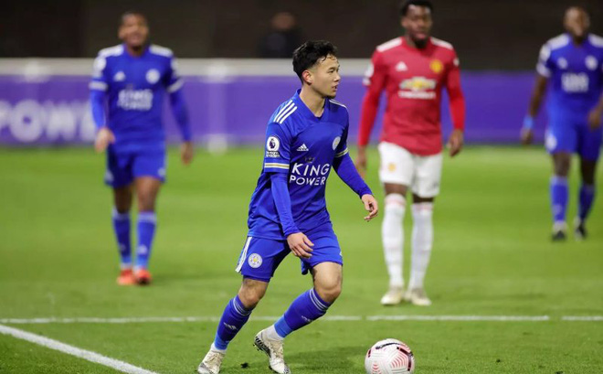 Làm nên lịch sử tại Anh, sao trẻ xứ Chùa Vàng được HLV Leicester khen ngợi hết lời