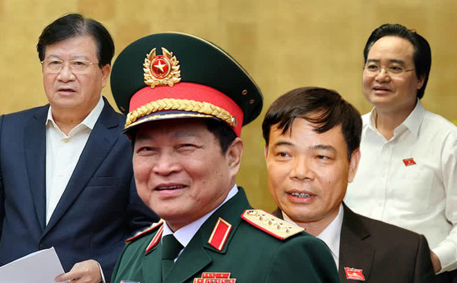 Chính thức miễn nhiệm Bộ trưởng Phùng Xuân Nhạ, Ngô Xuân Lịch và một số thành viên Chính phủ