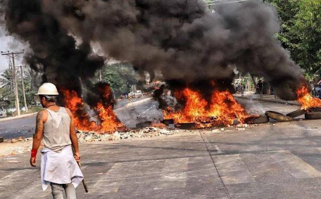 Myanmar: Thêm bảy người biểu tình thiệt mạng, nhà máy Trung Quốc bị phóng hỏa