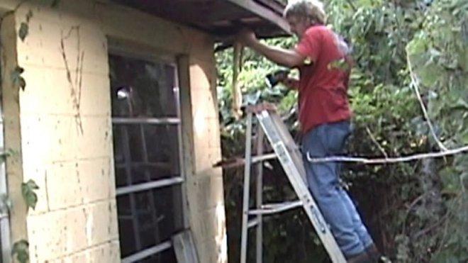 Chịu đựng tiếng ồn trên gác nhiều năm, cứ ngỡ là chuột song thứ tìm được khiến chủ nhà khiếp vía - Ảnh 1.