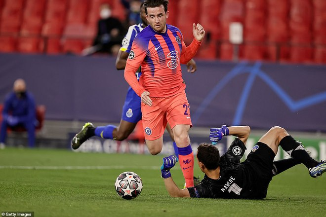 Porto 0-2 Chelsea: The Blues đặt 1 chân vào bán kết - Ảnh 1.