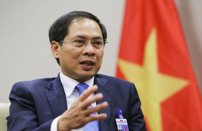 Tân Bộ trưởng Ngoại giao Bùi Thanh Sơn: Tôi rất tự hào, xúc động nhưng trách nhiệm sẽ rất nặng nề - Ảnh 1.