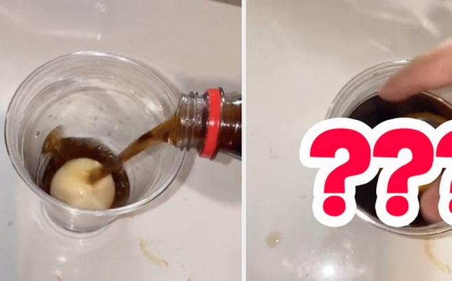 Thử ngâm trứng vào hỗn hợp Coca-Cola và giấm, thanh niên nhận cái kết mỹ mãn nhưng dân mạng thì đồng loạt có chung 1 phản ứng?