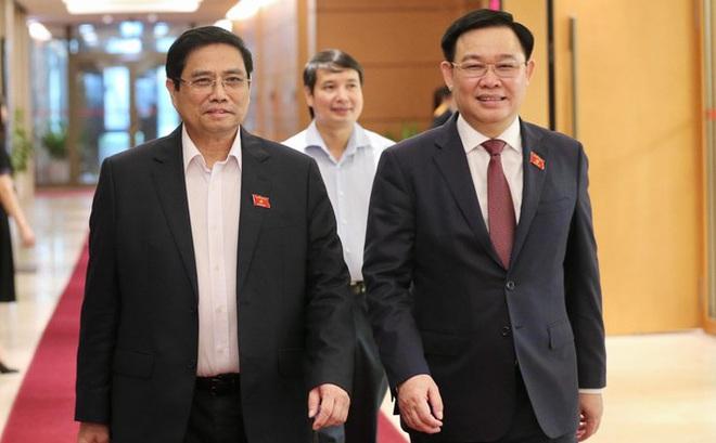 Thủ tướng Phạm Minh Chính, Chủ tịch Quốc hội Vương Đình Huệ nhận thêm nhiệm vụ mới