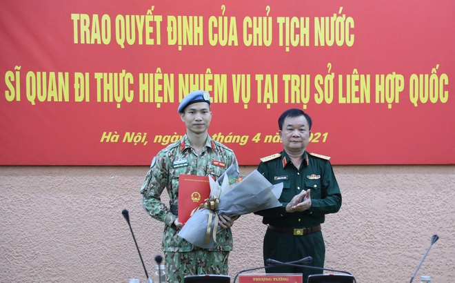 Chủ tịch nước cử sĩ quan Việt Nam thứ ba tới trụ sở Liên hợp quốc