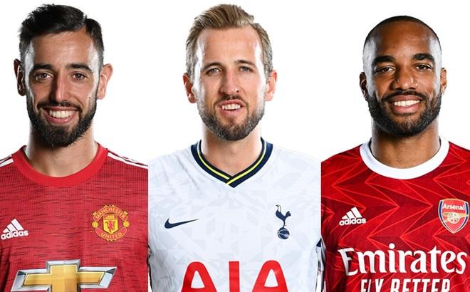 Cuộc đua vua phá lưới Ngoại hạng Anh 2020/2021:Căng như dây đàn