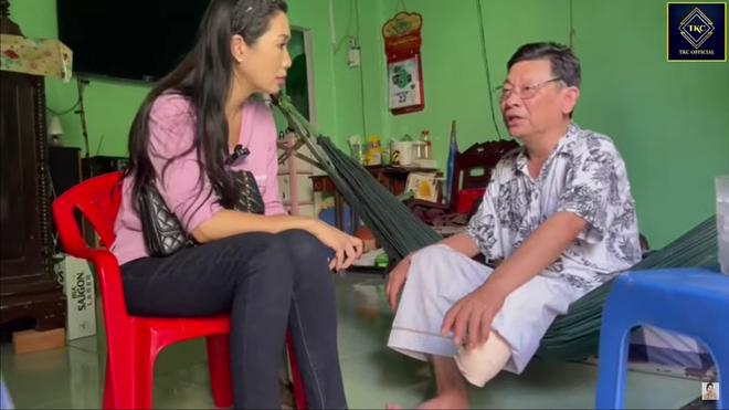 Nghệ sĩ Linh Phước phải cắt chân 2 lần vì bệnh quái ác: Tới khi đó tôi mới nhìn vợ khóc - Ảnh 3.