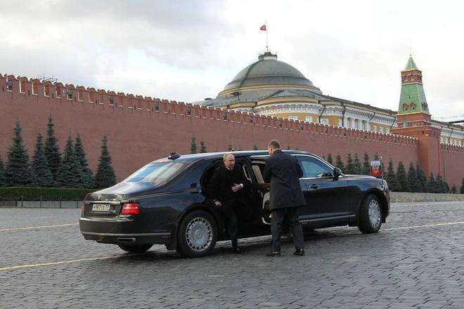 Chiếc xe gấu Nga dành cho tổng thống Putin: Thế giới choáng ngợp! - Ảnh 1.