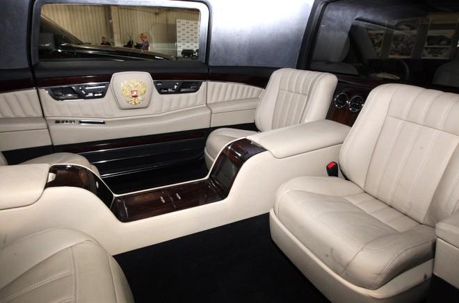 Chiếc xe gấu Nga dành cho tổng thống Putin: Thế giới choáng ngợp! - Ảnh 4.