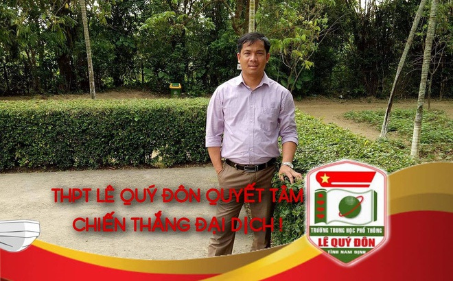 """61 học sinh và giáo viên THPT Lê Quý Đôn cách ly vì Covid-19, hiệu trường viết thư: """"Điều lo lắng nhất cũng đã đến rồi"""""""