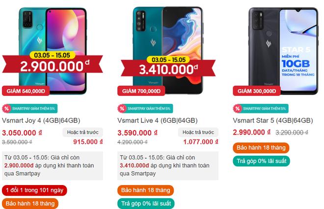 Điện thoại Vsmart giảm giá mạnh cùng câu hỏi: Còn bán đến khi nào, ai dám mua? - Ảnh 4.
