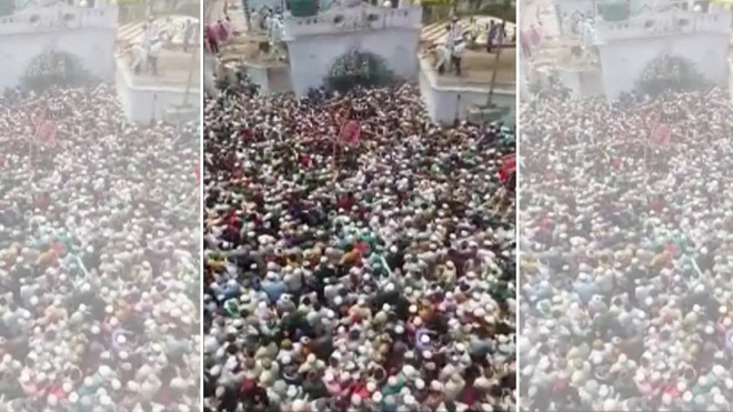 Hàng nghìn người Ấn Độ chen chân dự đám tang: Cảnh sát nói sẽ hành động nghiêm khắc - Ảnh 2.