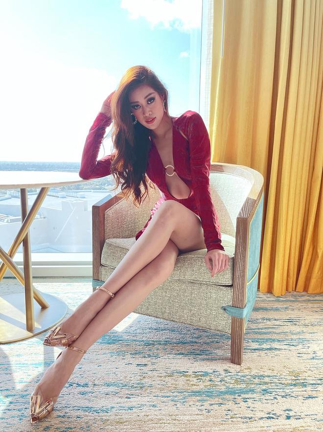 Khánh Vân ở Miss Universe: Ngày nào cũng chặt chém bằng body nóng bỏng - Ảnh 7.