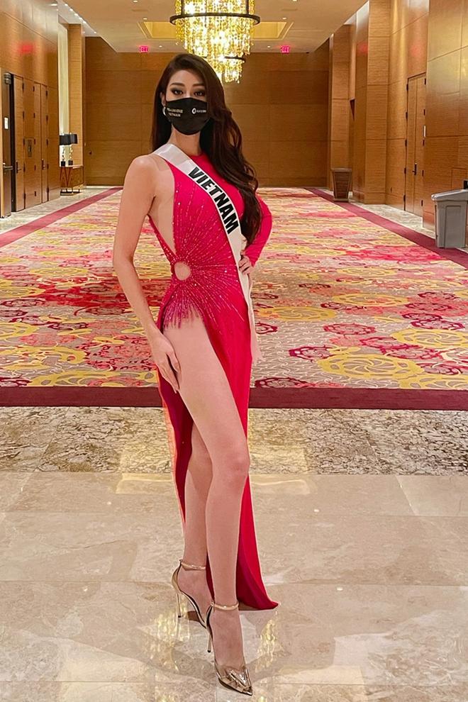 Khánh Vân ở Miss Universe: Ngày nào cũng chặt chém bằng body nóng bỏng - Ảnh 9.