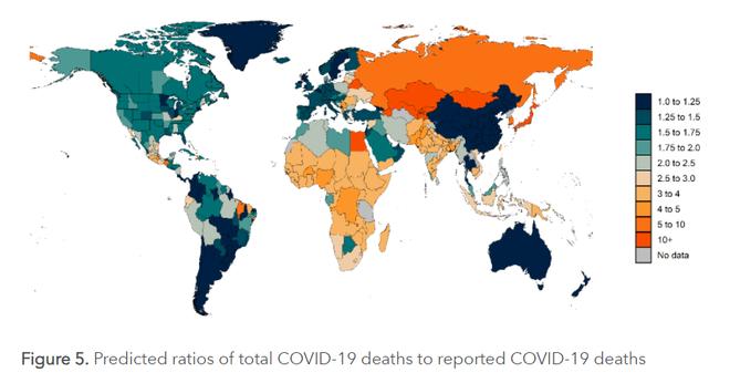 Tổng số người chết vì Covid-19 trên thế giới: Đại học Mỹ công bố báo cáo phân tích khác xa thực tế - Ảnh 5.