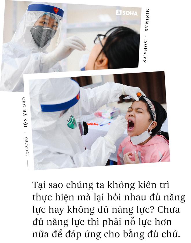 Khó khăn thì vô vàn. Nếu có thể, các bạn hỗ trợ CDC Hà Nội nhé, họ khổ lắm... - Ảnh 3.
