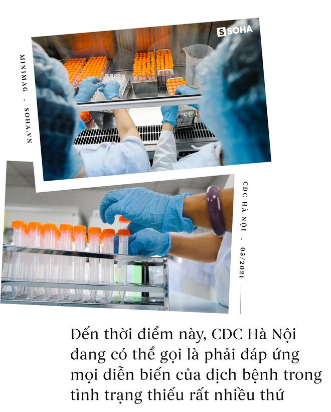 Khó khăn thì vô vàn. Nếu có thể, các bạn hỗ trợ CDC Hà Nội nhé, họ khổ lắm... - Ảnh 6.