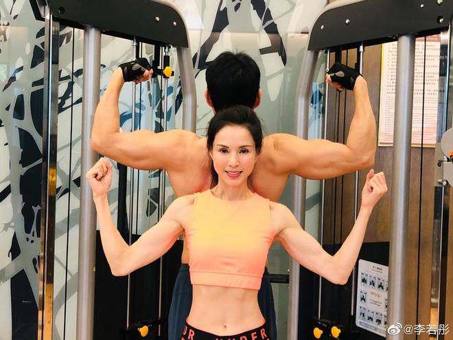 Tiểu Long Nữ Lý Nhược Đồng khoe vóc dáng săn chắc, vòng eo 56cm ở tuổi U60 - Ảnh 4.