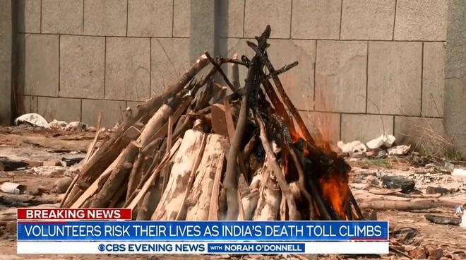 Ấn Độ: Củi chất thành núi cao 3m, trải dài hơn 1 sân bóng - tất cả chỉ để hỏa táng! - Ảnh 4.