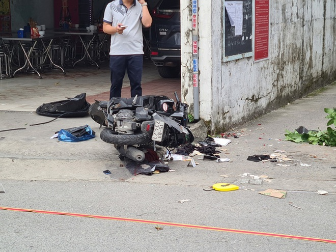 Điều tra vụ ôtô truy đuổi, tông thẳng vào xe máy, chèn qua làm 2 người tử vong - Ảnh 2.