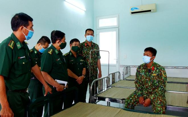 Một chiến sĩ bị sét đánh bất tỉnh tại chốt chống dịch