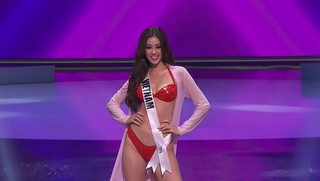 Ngắm trọn 3 phần thi bùng nổ, nóng bỏng của Khánh Vân trong bán kết Hoa hậu Hoàn vũ Thế giới 2020 - Ảnh 7.