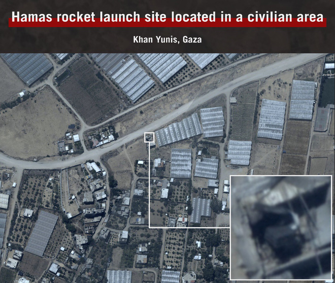 Bất chấp rocket bắn trả, Israel dồn lực tung đòn nốc-ao người Palestine - Gaza chìm trong biển lửa! - Ảnh 3.