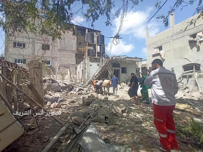Bị bắn bởi 3.200 rocket, QĐ Israel quyết nhổ cỏ tận gốc ở Gaza - Thổ lăm le vào cuộc? - Ảnh 2.