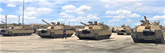 Mỹ hoàn thành thử nghiệm tăng M1A2C trong điều kiện khí hậu khắc nghiệt Alaska - ảnh 1
