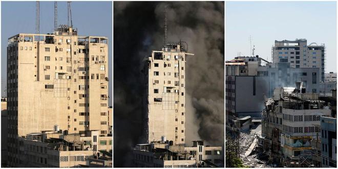 Tại sao Israel bắn tên lửa vào nóc nhà trước khi đánh sập tòa nhà 13 tầng ở Gaza? - Ảnh 1.