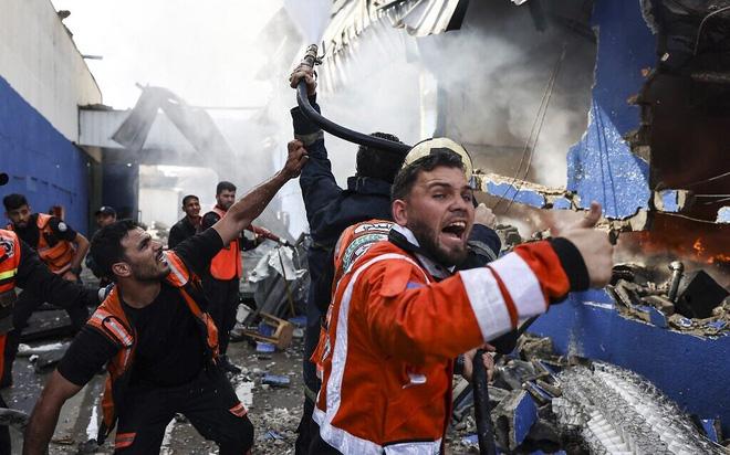 Mỹ bán khẩn cấp vũ khí độc cho Israel ngay giữa chiến sự ở Gaza nóng bỏng - Liên tiếp giáng đòn sấm sét, Hamas choáng váng - Ảnh 1.